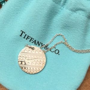Tiffany & Co 925 Sterling Silver Nike Necklace ✨